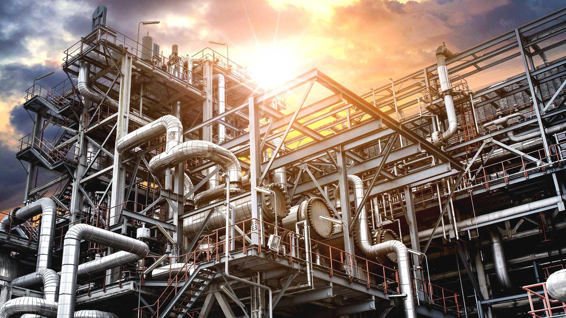 Industrie en petrochemie