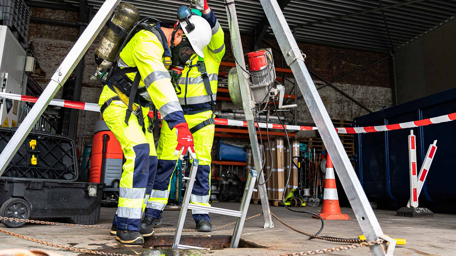 Outsourcen brand- en veiligheidswachten - Safety Masters
