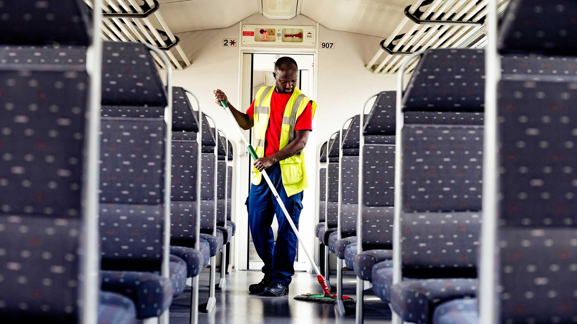 Reinigen treinen - Mobility Masters