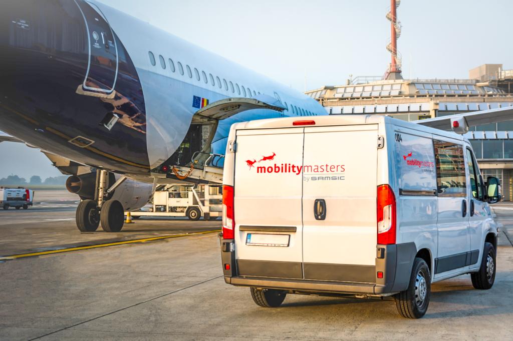 Mobility Masters maakt jaarlijks 40.000 vliegtuigen schoon op de luchthaven van Zaventem (Brussels Airport).