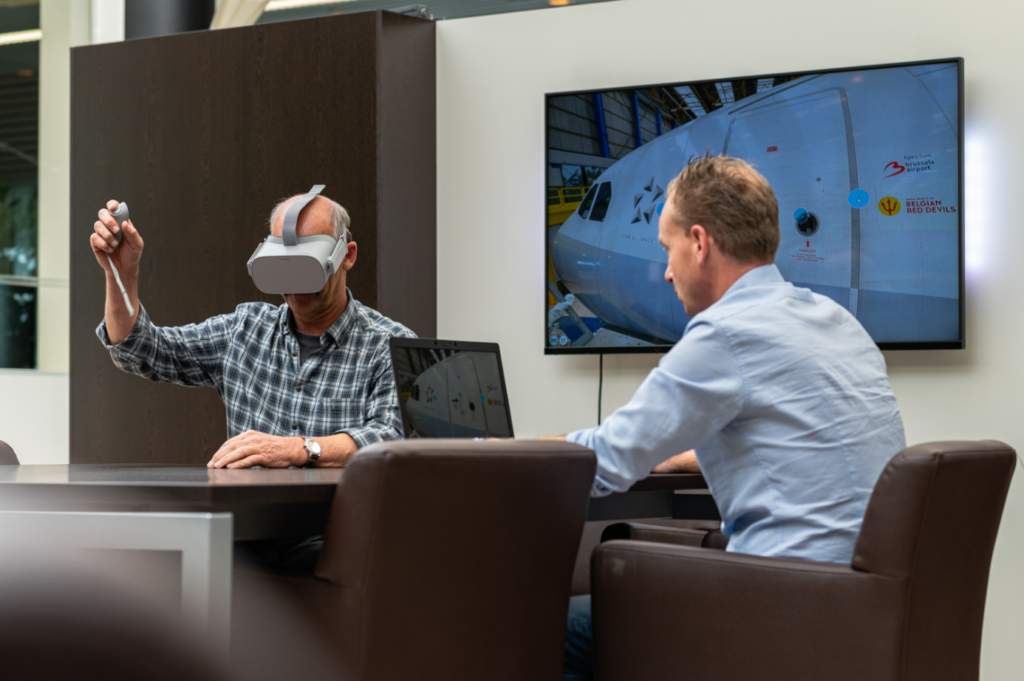 Mobility Masters uses virtual reality technique to train its employees.