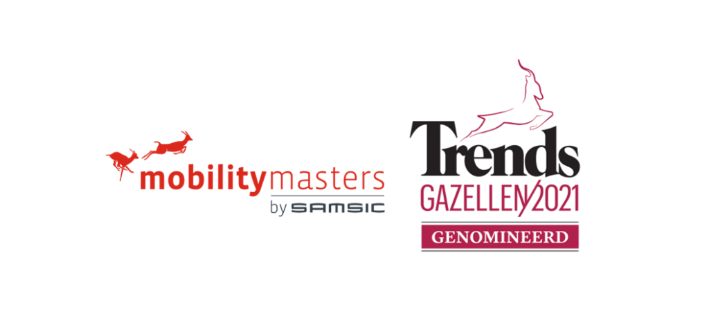 Mobility Masters is nominated for the 2021 Trends Gazelles