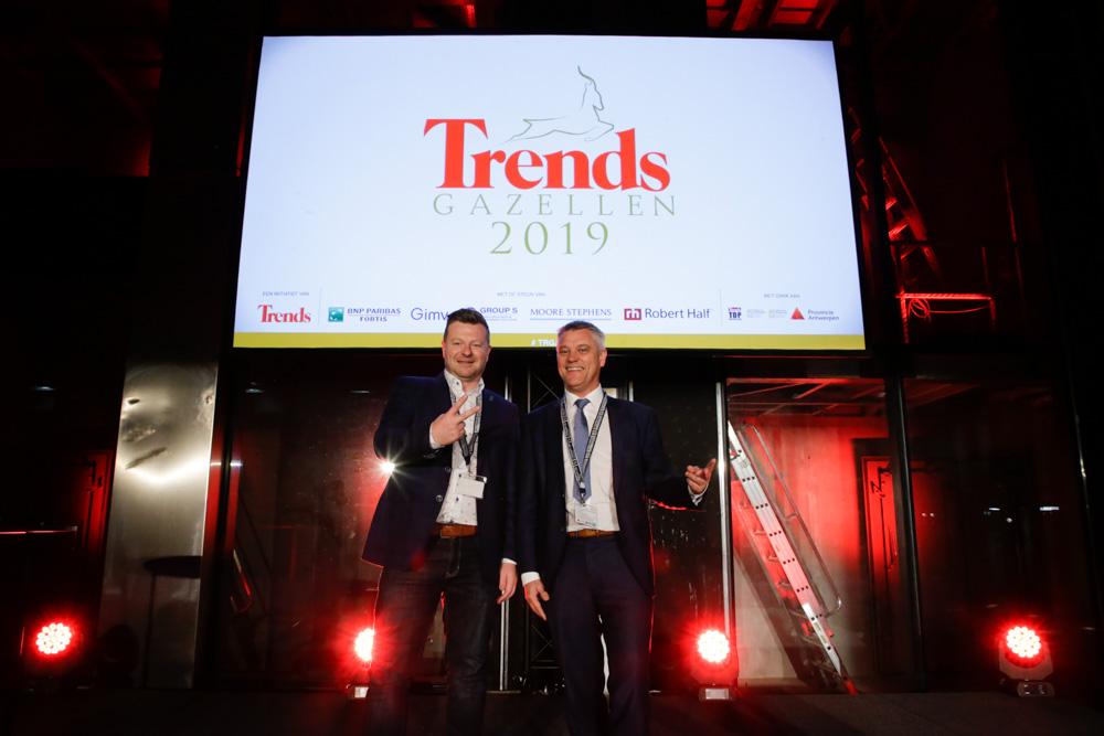 In 2019 eindigde Techni Masters tweede bij de verkiezing van de Trends Gazellen.