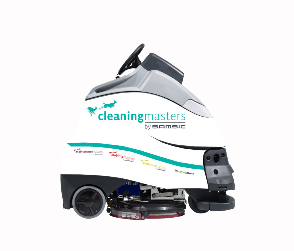 Schoonmaakrobot - cleaning robot - robot de nettoyage