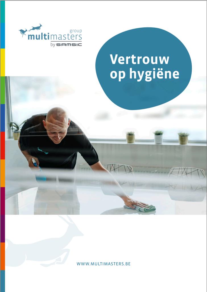 Alles over hygiëne tijdens en na corona vindt u in de whitepaper 'Vertrouw op hygiëne'.