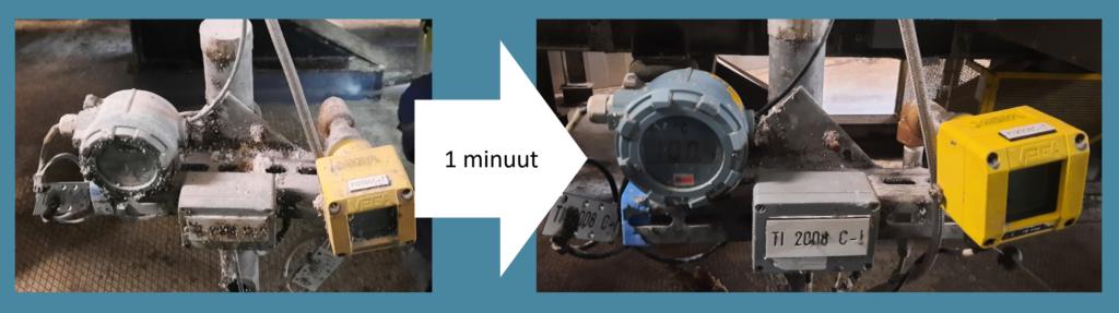Droogijsstralen is een snelle en onschadelijke manier om bijvoorbeeld elektrische leidingen grondig te reinigen.
