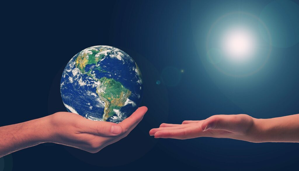 Sustainable development meets the needs of the present without compromising the needs of future generations.