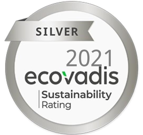 EcoVadis a donné à Cleaning Masters la médaille d'argent pour récompenser ses efforts dans le domaine de la durabilité.