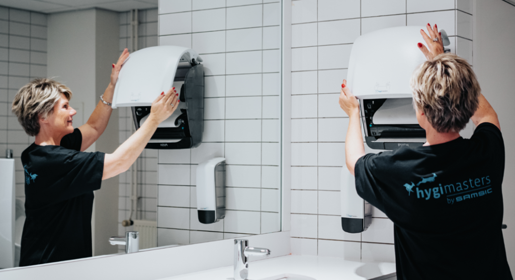 When preparing for your employees to come back to the office, you should also pay some extra attention to your sanitary facilities.