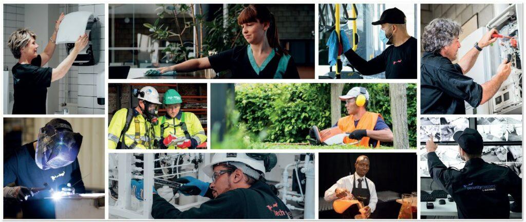 De facilitaire dienstverlener Multi Masters Group met zijn tien gespecialiseerde divisies is gegroeid uit het schoonmaakbedrijf Cleaning Masters.
